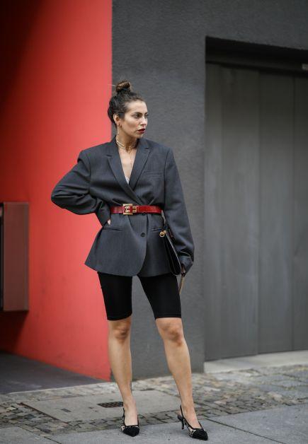 12 façons de porter le blazer oversized cet automne - 8