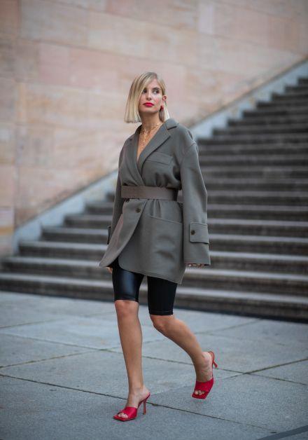 12 façons de porter le blazer oversized cet automne - 9