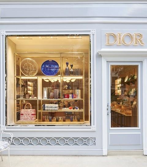 Dior Maison dévoile une nouvelle boutique dédiée à l'art de vivre