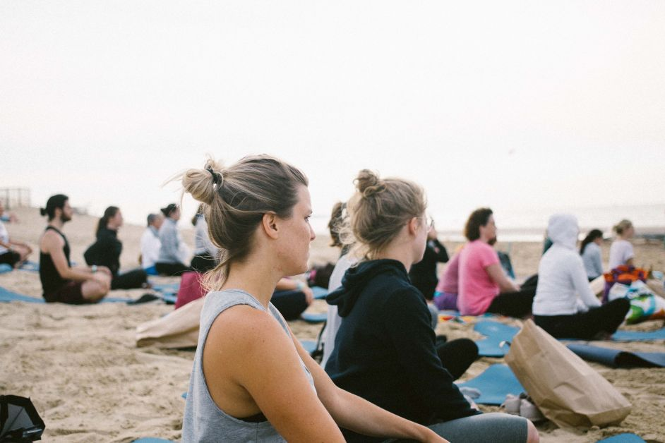 Elle Yoga Sunset 2-10