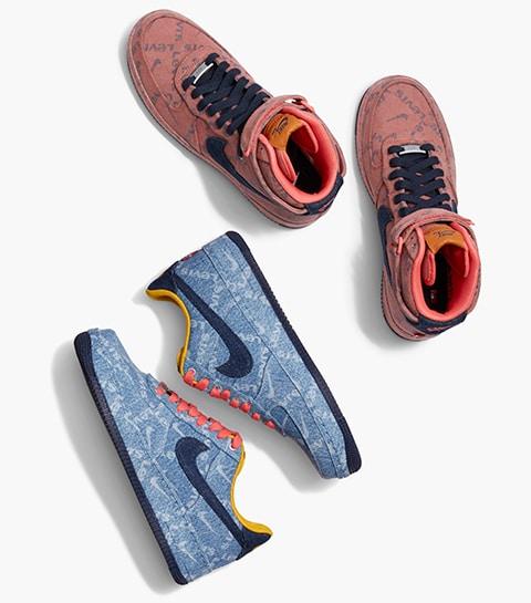 La collab' qui claque: des baskets signées Nike x Levi's