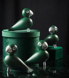 Objet du désir : l'oiseau de Kay Bojesen désormais en bois et argent