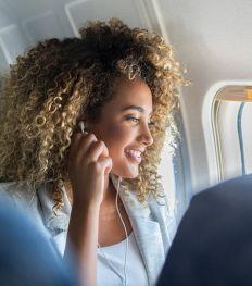 5 règles d'or pour rester fraîche pendant un vol