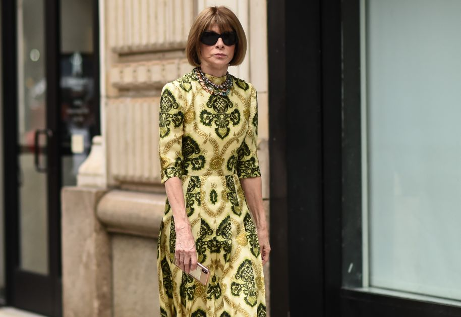 anna wintour fashion week new york