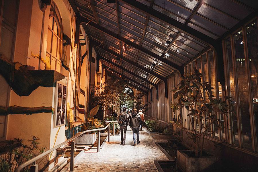 photo du botanique au Brussels Museums Nocturnes