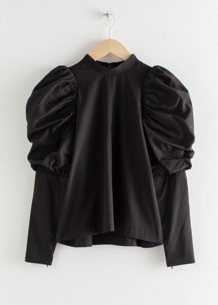 blouse manches bouffantes