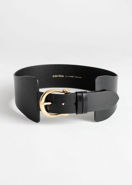 ceinture cuir noir