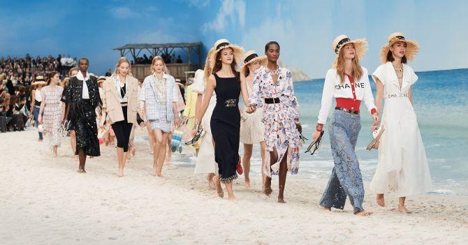 Chanel PE 2019 Photo : Lucile Perron