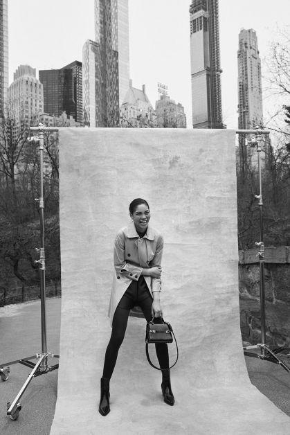 Chanel Iman Delvaux