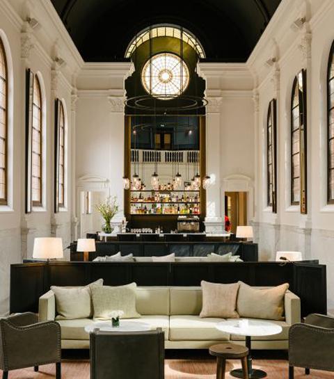 August, un hôtel des temps moderne à Anvers