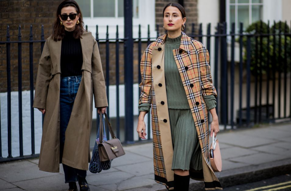 fashion week de londres streetstyle