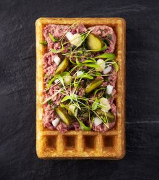« Gaufres & Waffles », le concept qui twiste la gaufre de Bruxelles