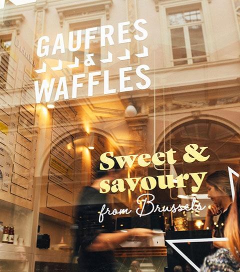 gaufres & waffles galerie de la reine