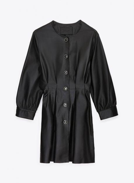 robe cuir