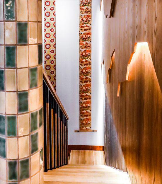 Photo de la nouvelle décoration du Samouraï à Bruxelles
