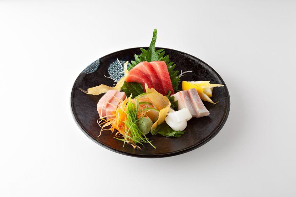 Photo des sashimis du Samouraï