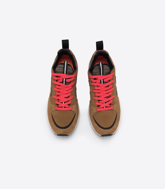 dad sneakers veja marron