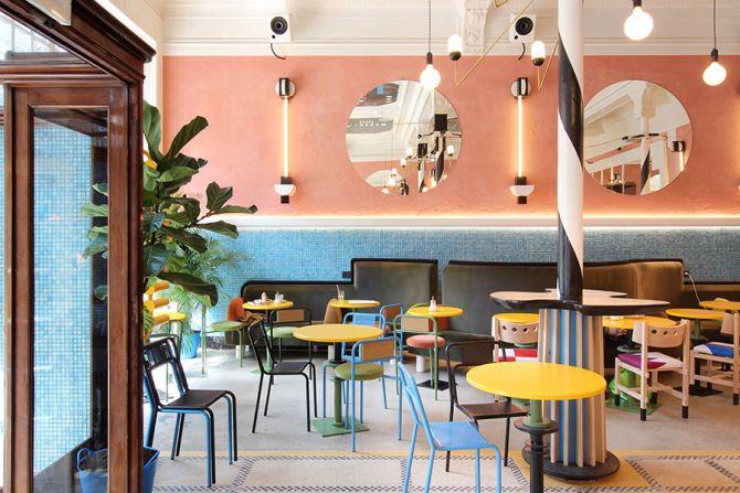 restaurant café flora