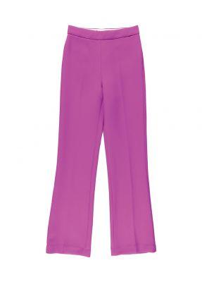 pantalon de tailleur rose essentiel