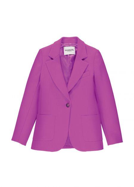veste de tailleur rose essentiel