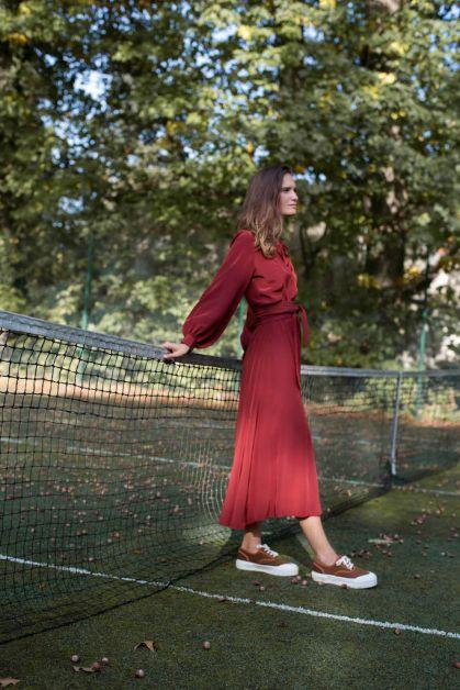 mardi robe rouge