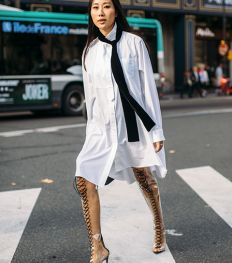 Le noir & blanc, la valeur sûre de la fashion week de Paris ?