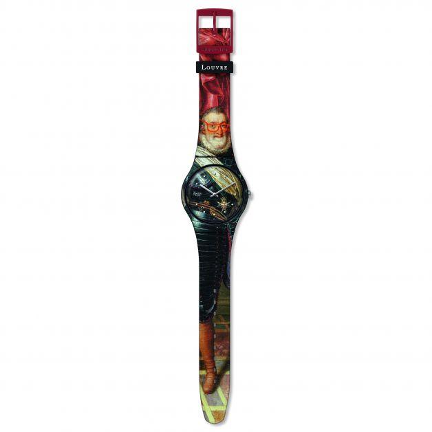 Collection Swatch X Le Louvre - Henri IV, 80€