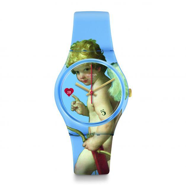 Collection Swatch X Le Louvre - L'enlèvement d'Hélene, 75€
