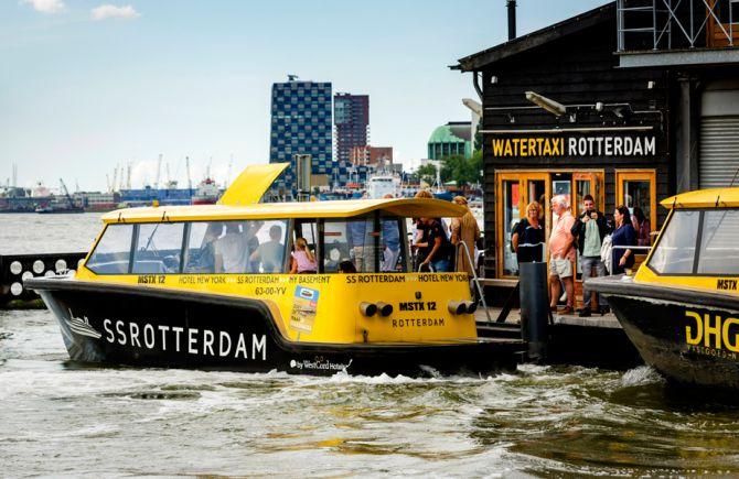 Watertaxis de Rotterdam