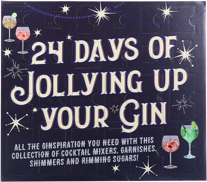 Calendrier de l'Avent Jollying Up Your Gin