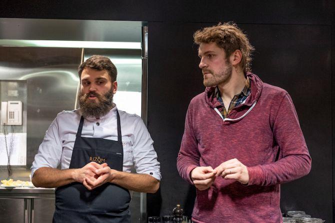 Olivier de Vriendt et Antoine Malingret autour du beer pairing