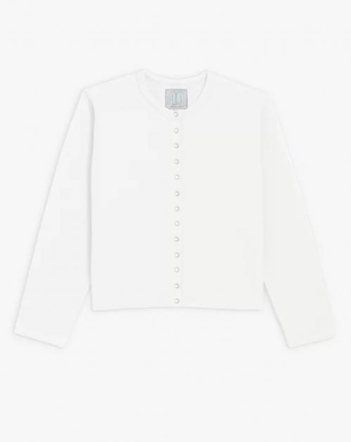 cardigan blanc agnes b