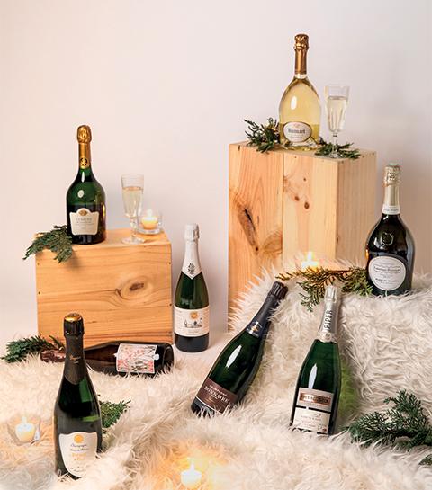 8 champagnes pour accompagner un menu de fêtes