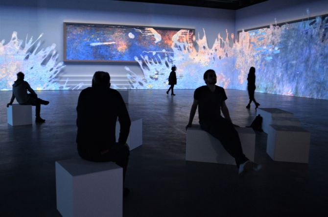Monet Exposition immersive interactive