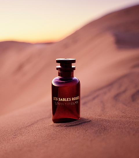 Les Sables Roses : le parfum oriental revu par Louis Vuitton
