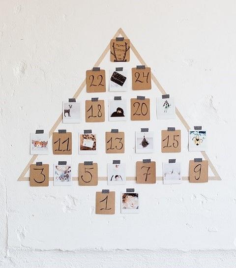 DIY : créez votre propre calendrier de l'avent