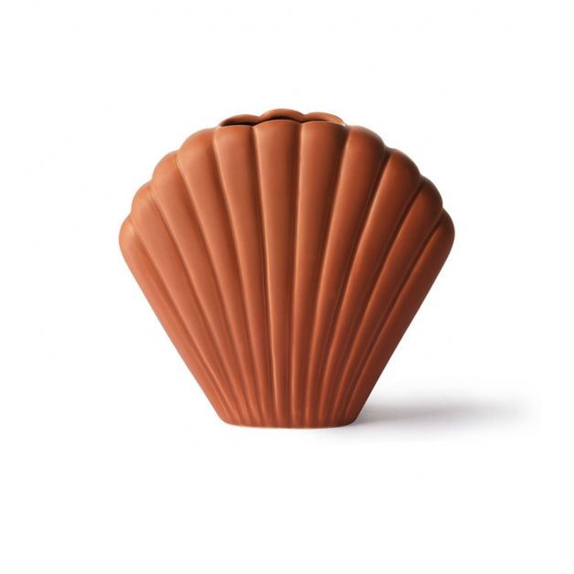 vase-coquillage-marron