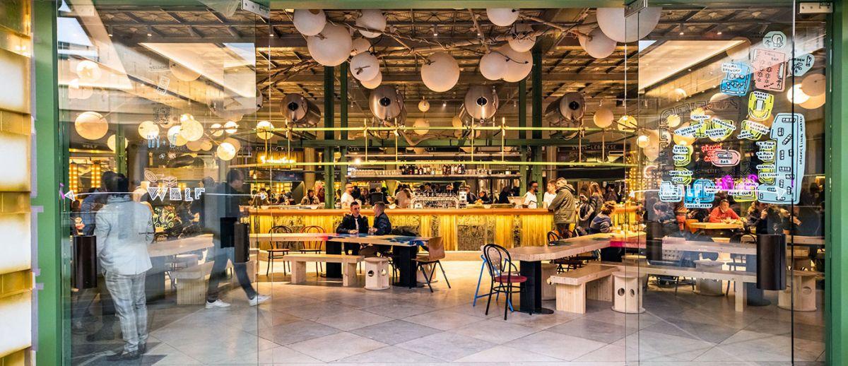 wolf food market à Bruxelles