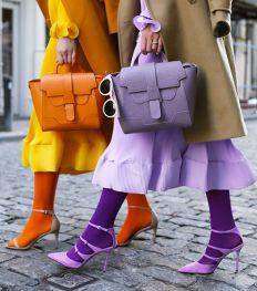 Comment porter les bas de couleur ?