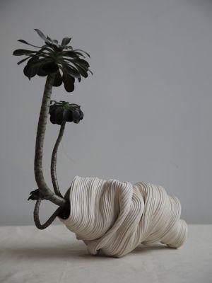 Une création en céramique de Zhu Ohmu