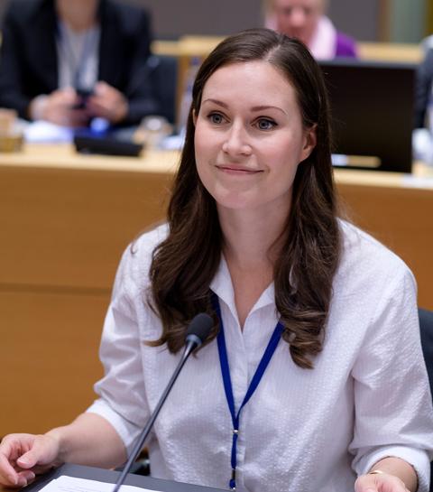 Un gouvernement jeune et féminin comme en Finlande, c'est pour quand ?