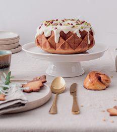 Gâteau moelleux à la courge butternut