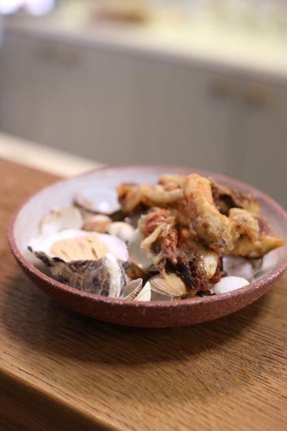 Tempuras de crabe à grignoter pendant l'afterwork