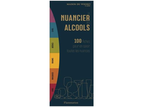livre nuancier alcool