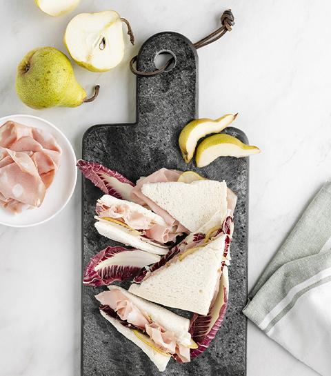 Sandwich mortadella par Leslie en Cuisine