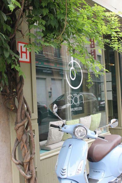 Façade restaurant San Bruxelles