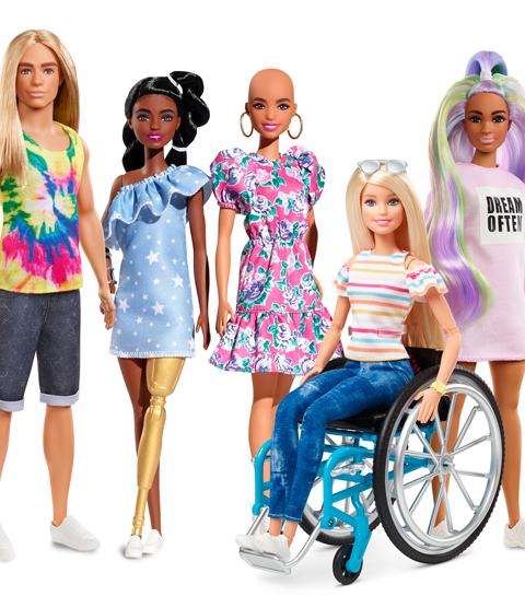Vitiligo et prothèse dorée : Barbie, encore un peu plus loin dans l'inclusivité