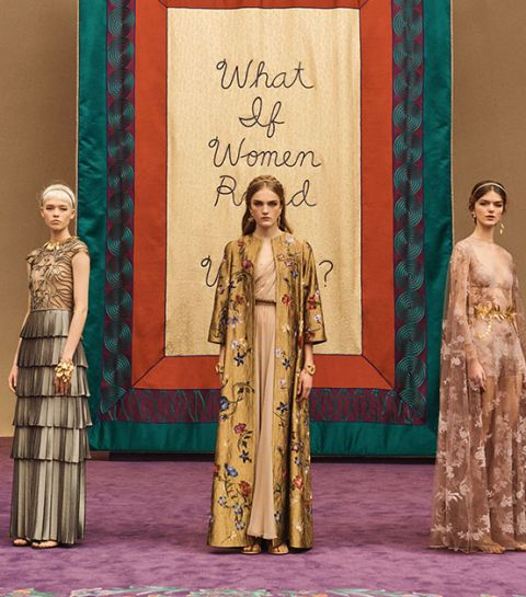 C'était comment le show Dior Haute Couture 2020 ?