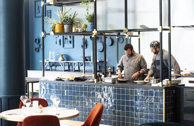 The 1040, le restaurant de l'hôtel Sofitel à Bruxelles