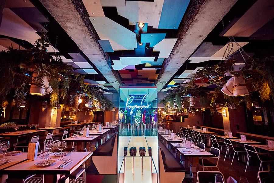 popular restaurant hotel Jam